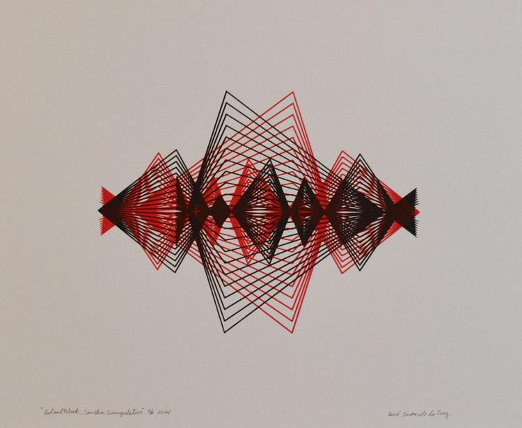 Red & Black Simetric Triangulation - Image 0