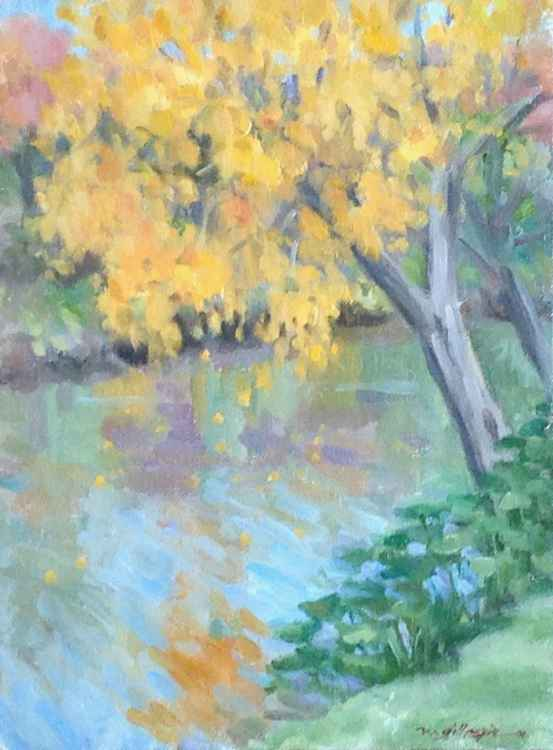 Yellow Leaves, Turtle Creek -