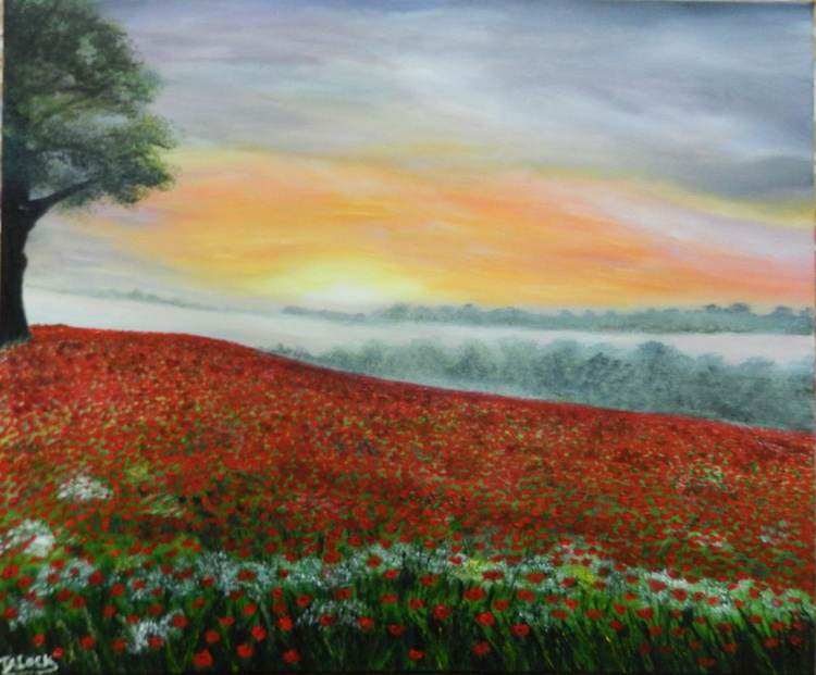 poppy sunset - Image 0