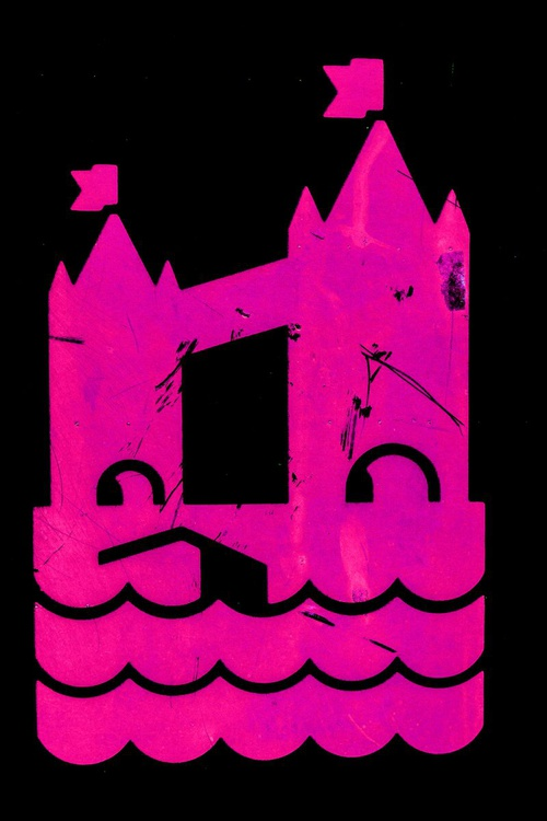 "LONDON CLOSE-UP NO:16 PINK (Tower Bridge) Limited edition  1/20: 12""X18"" - Image 0"