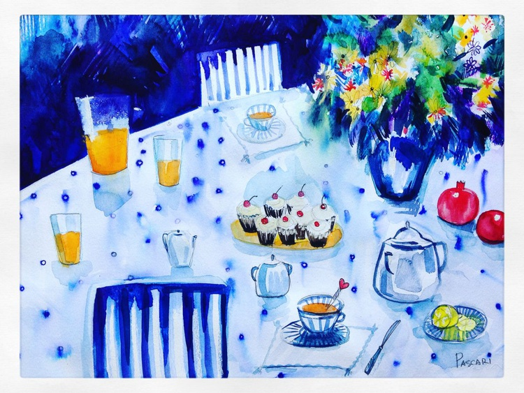 Breakfast on the table. - Image 0