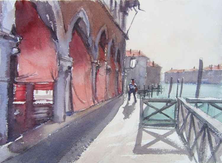 Venice fischmarket -