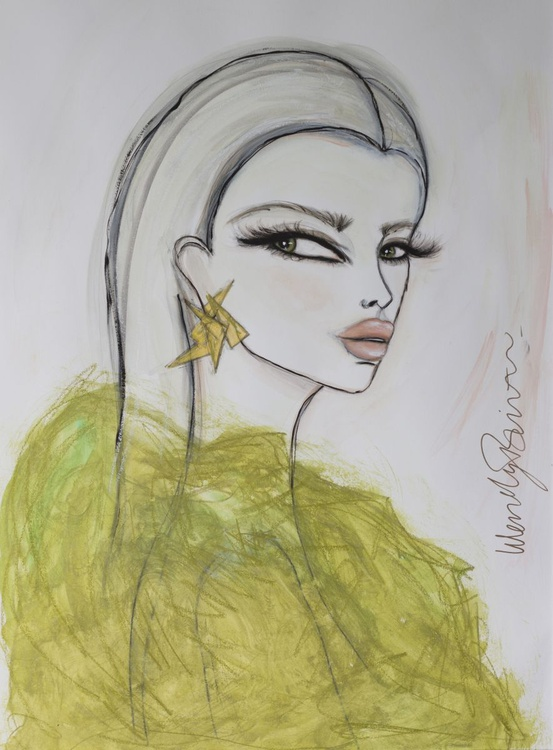 Gold and Olive - Image 0