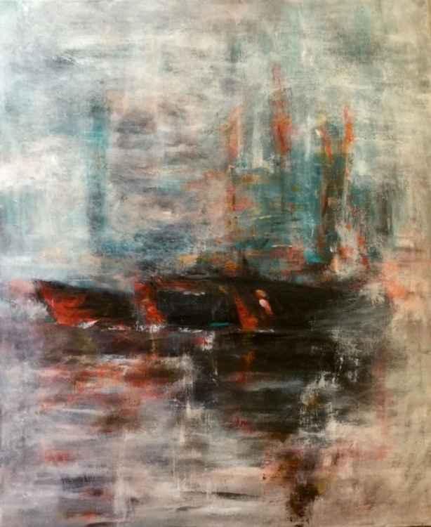 """""""Ships In Fog"""" -"""