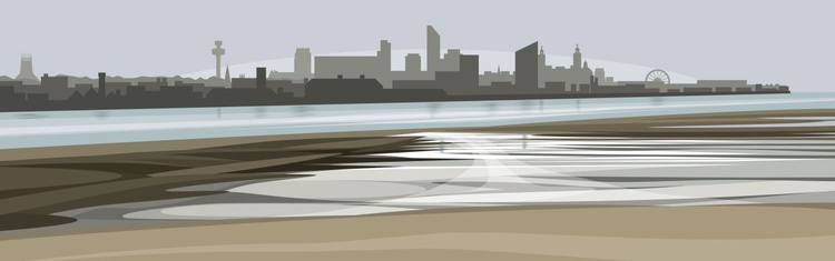 Liverpool from the Wirral - Image 0