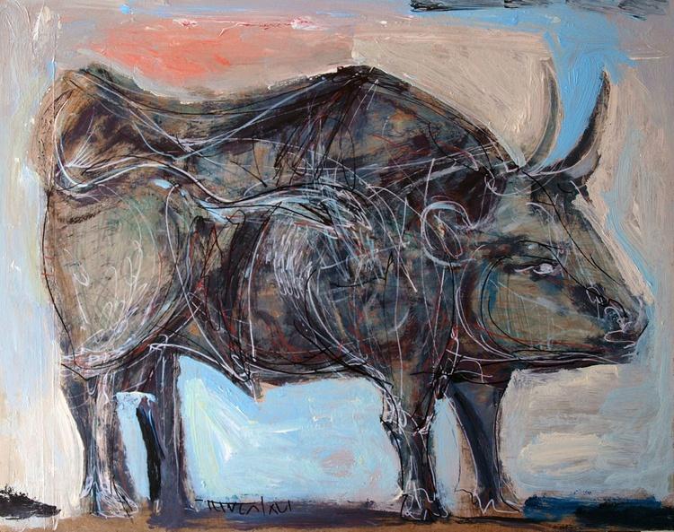Rosenrot V - bull profile (retaken) - Image 0