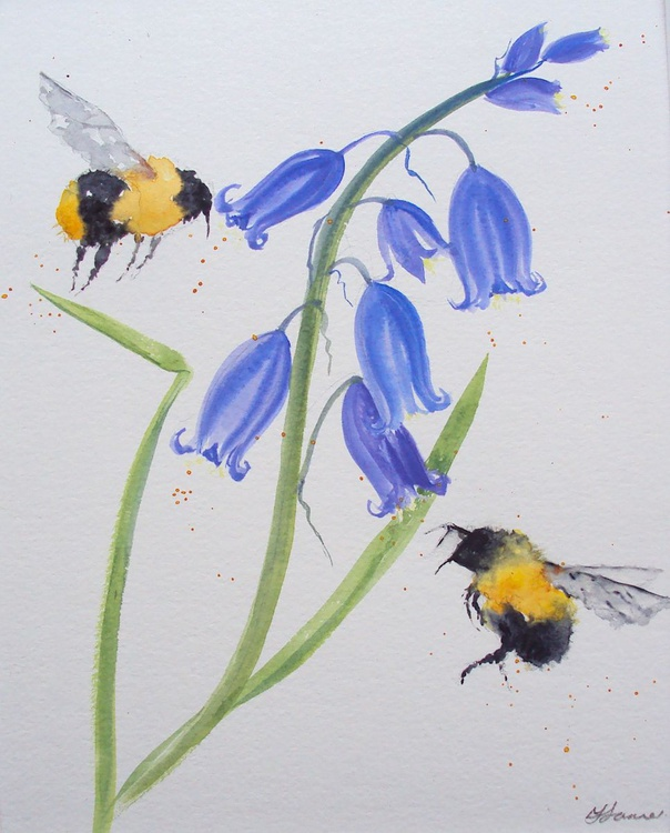 Bees & Bluebells - Image 0