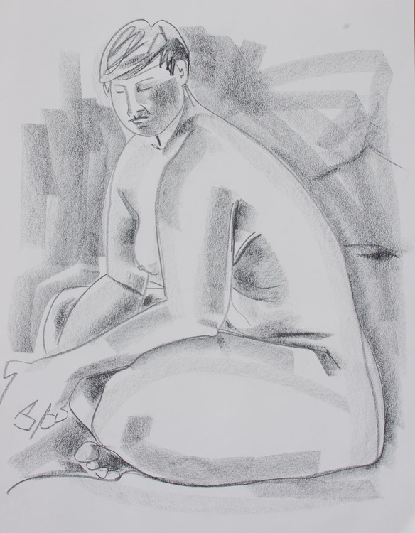 """Figure Study I - Kelly"" - Image 0"