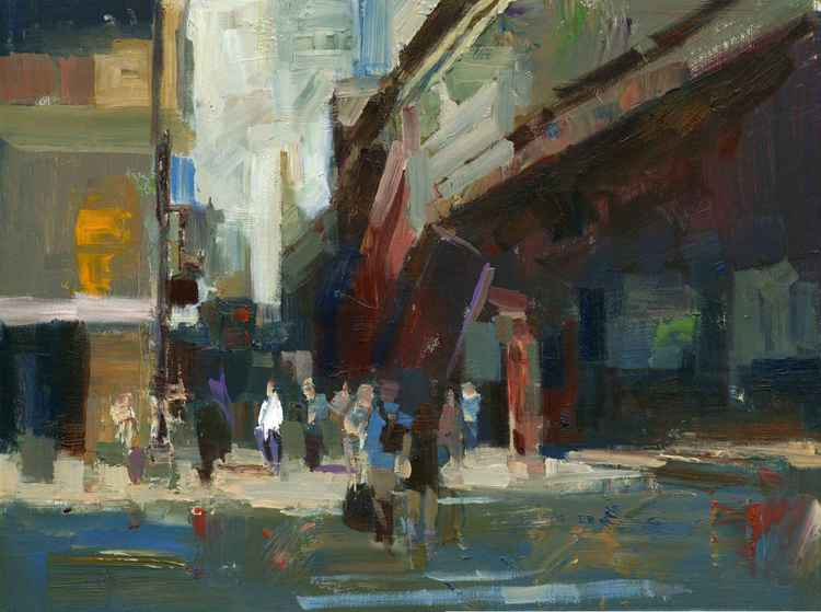 Steps to Street -