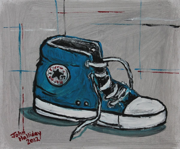 Blue Boot - Image 0