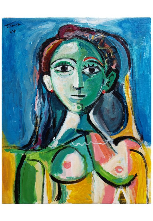 Jacqueline (inspired by Picasso) - Image 0