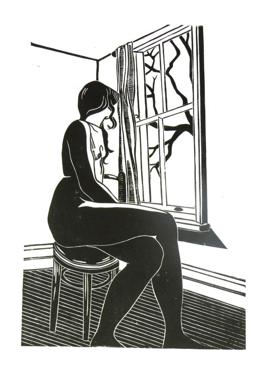 Nude at the Window - Image 0