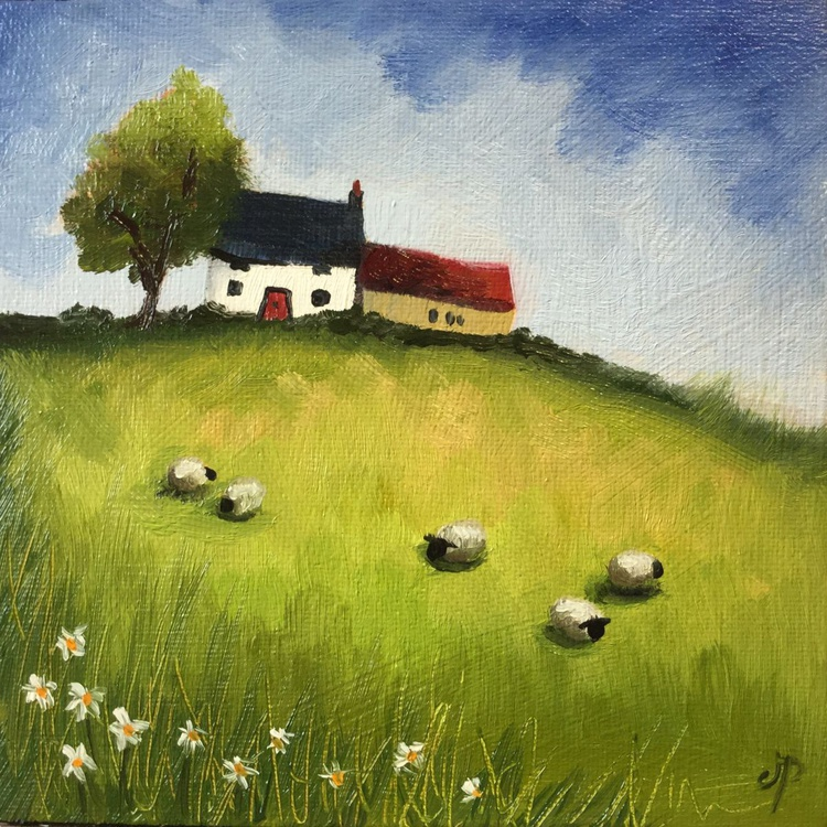 Little Farmhouse  with sheep - Image 0