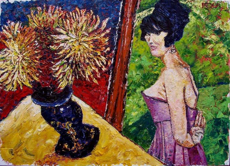 Dahlia's dahlias, I love wildflowers, I was one once. - Image 0