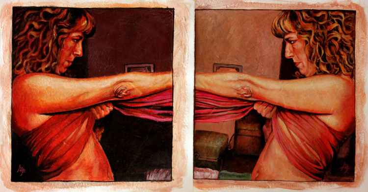EQUILIBRIO (diptych)