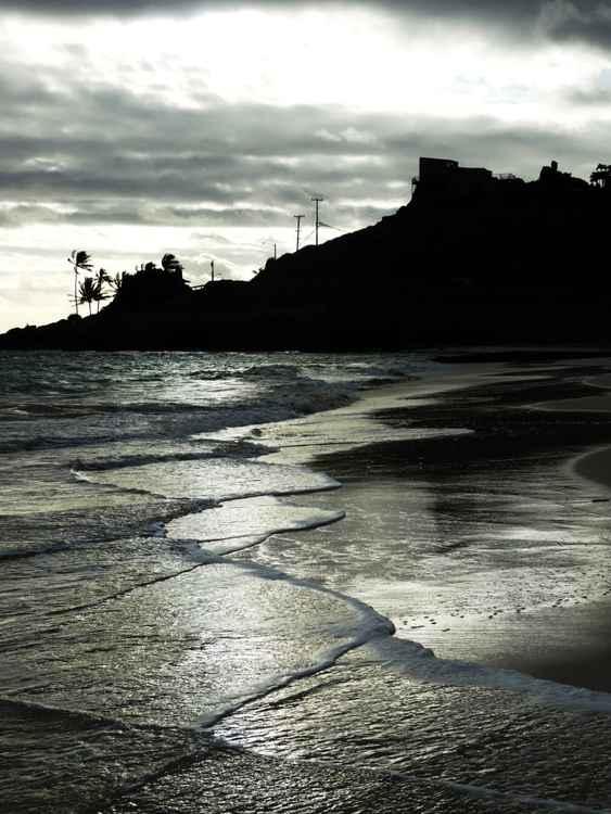 Crisscrossing Surf, Oahu -