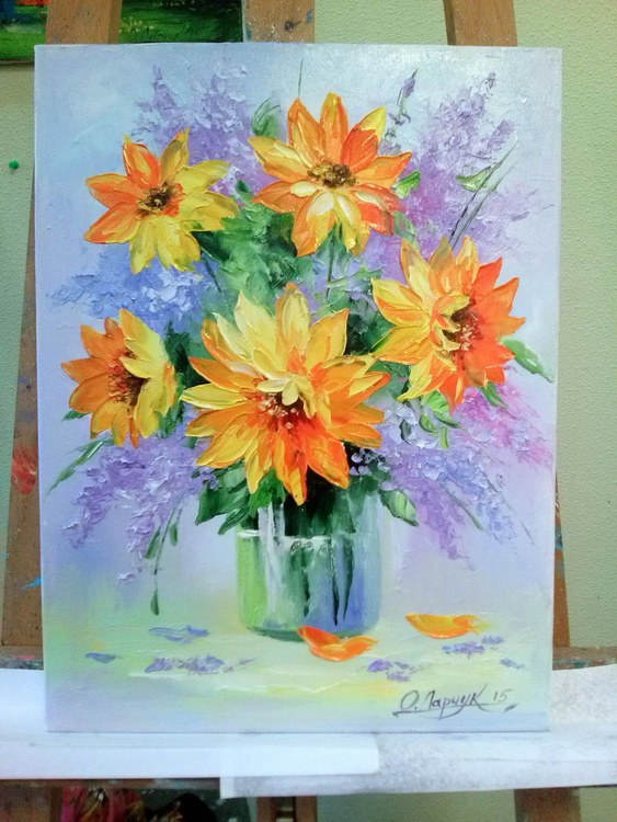 Bouquet of sunflowers - Image 0