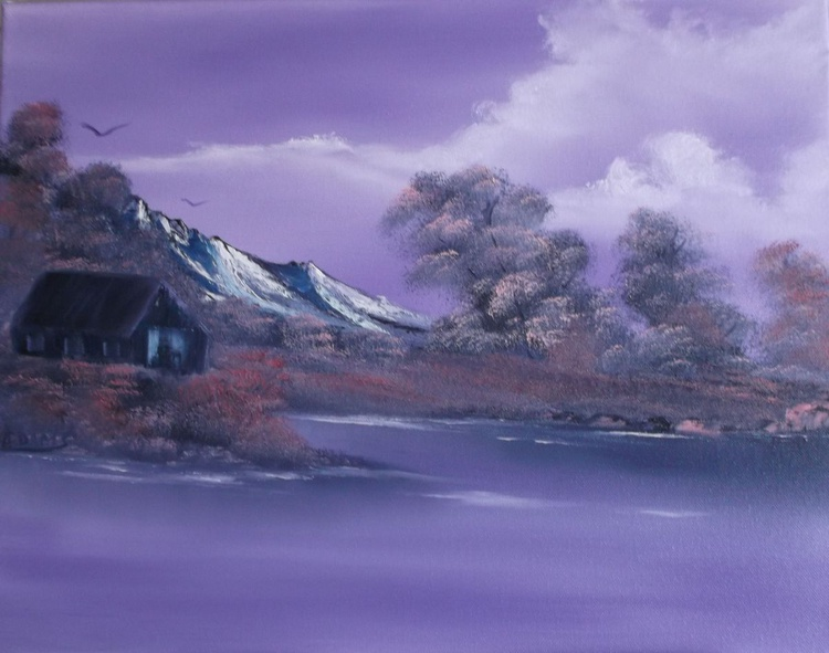 Purple Shades of the Orient - Image 0