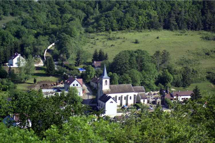Village in Burgundy