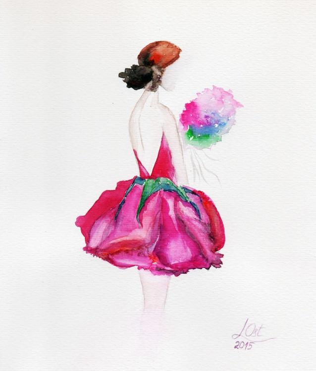 Pink rose - Image 0
