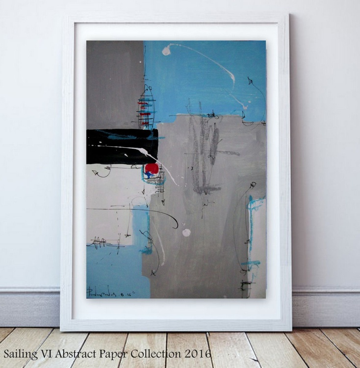Sailing VI, Abstract paper collection - Image 0