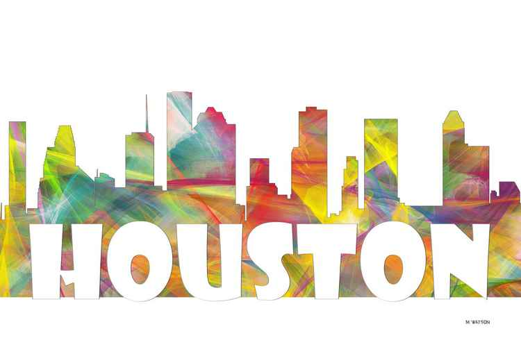 Houston Skyline MCLR2 -