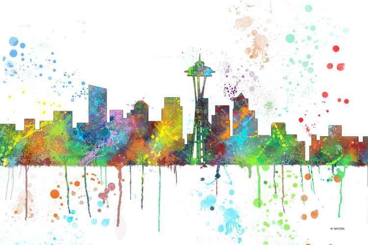 Seattle Skyline MCLR1