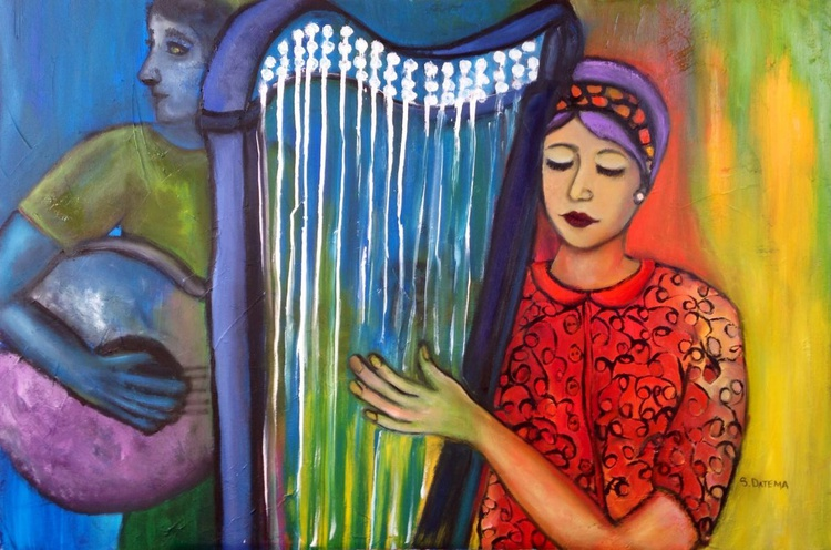 The Harp and The Voice - Image 0