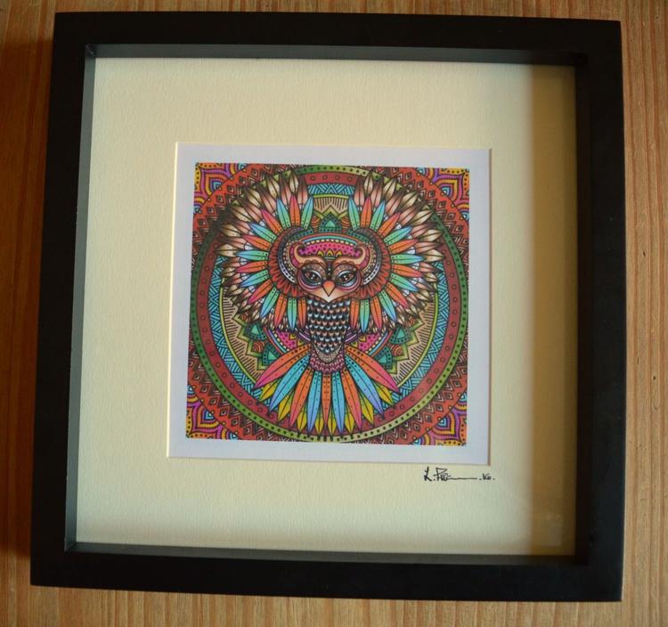 Owl Mandala - Image 0