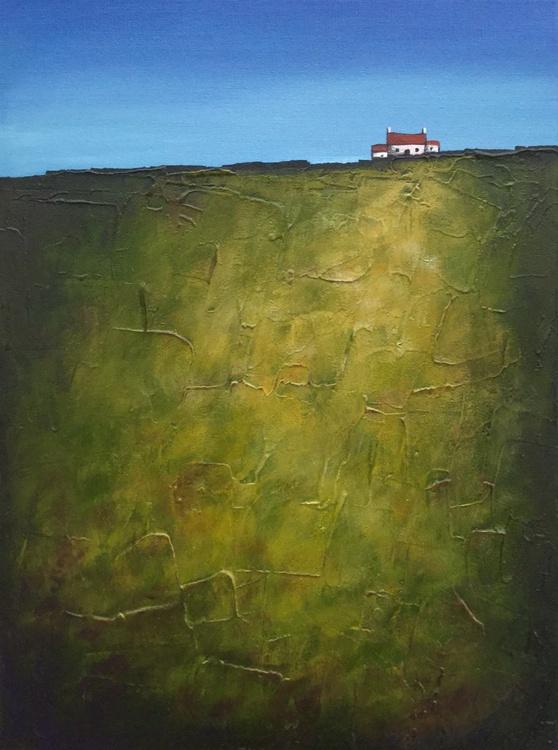 Green Field, Textured Landscape - Image 0