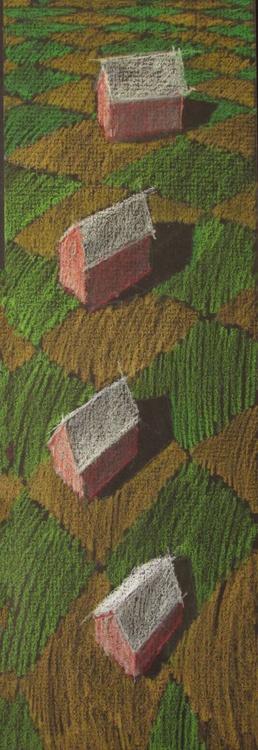 houses in landscape - Image 0
