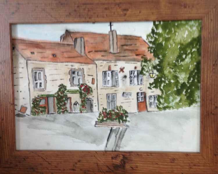 Medieval chauvigny,France -