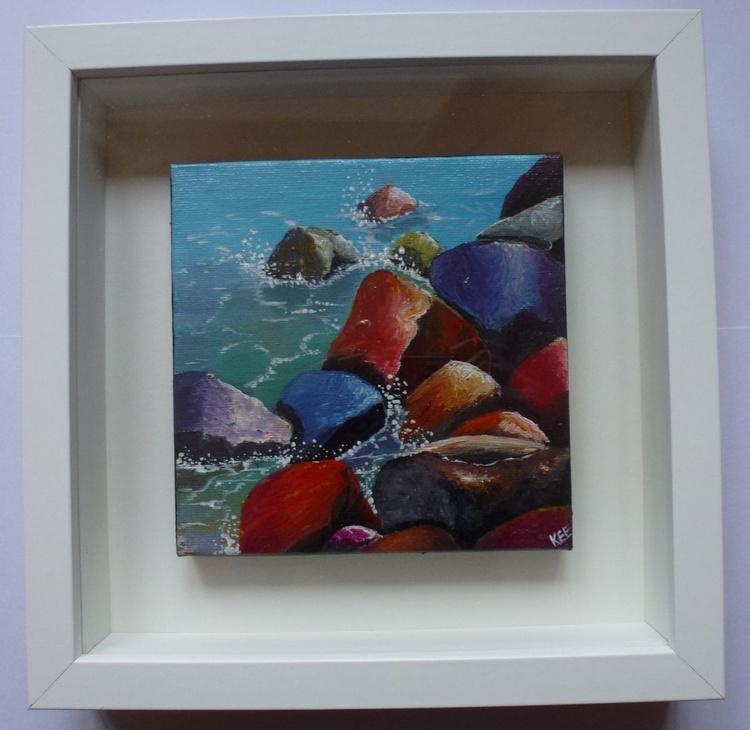 Rainbow Rocks (framed) - Image 0