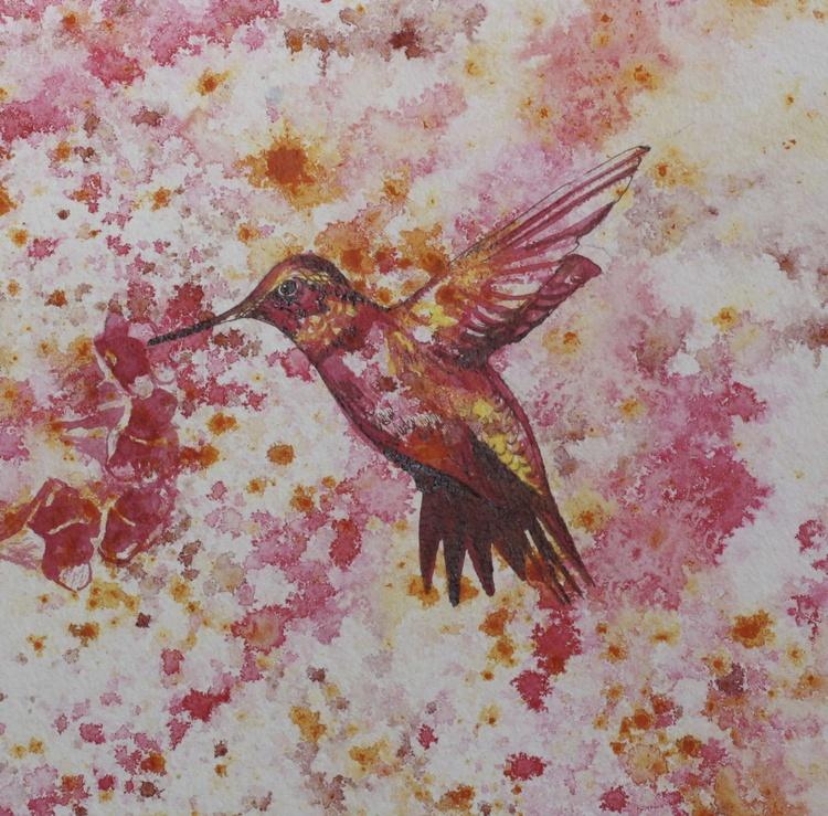 Red Hummingbird - Image 0