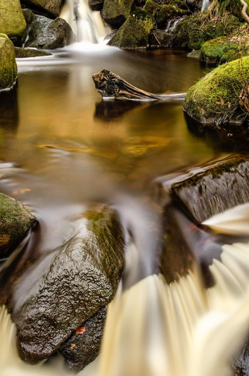 Burbage Brook, Padley Gorge  - Limited Edition Print - Image 0