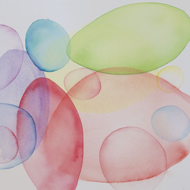 Coloured Bubbles #1 - Image 0