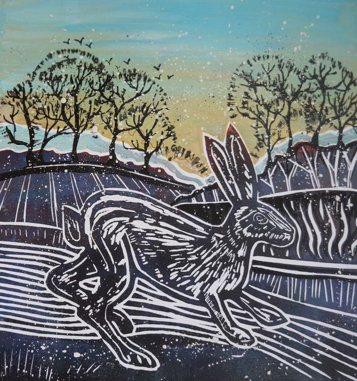 Winter Hare - Image 0