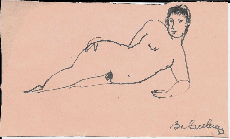 Double Nude 11x18 cm - Image 0
