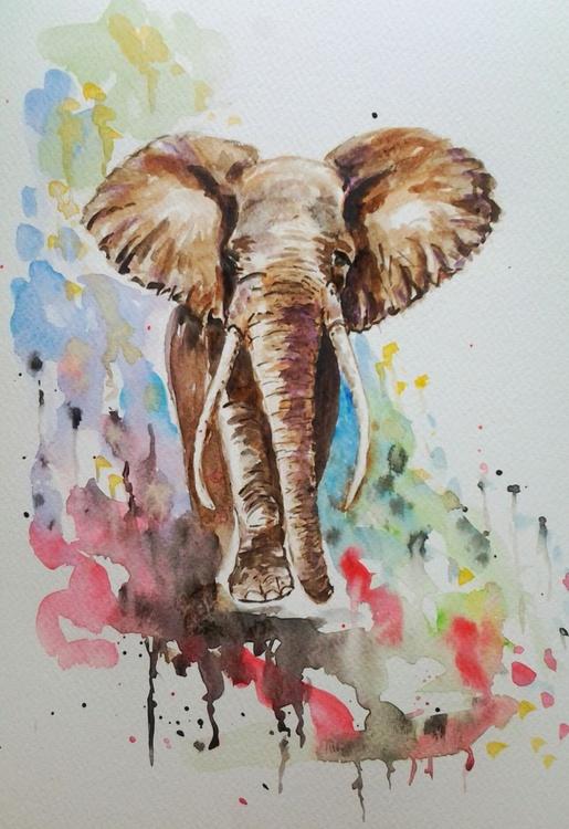 MAJESTIC, A4 watercolour - Image 0