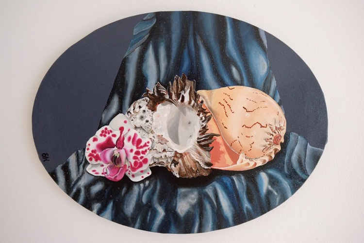 Orchid and Shells - Image 0
