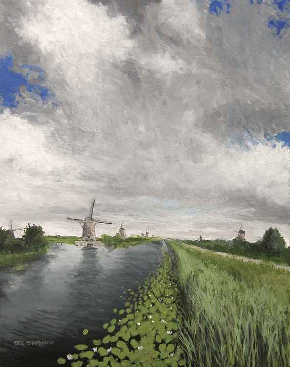 The Kinderdijk -
