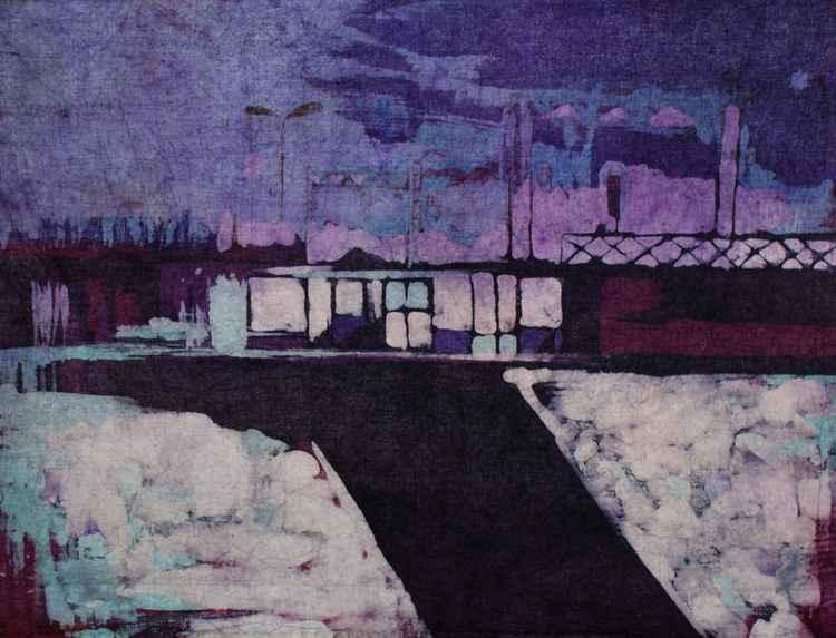A Railway Nocturne II -