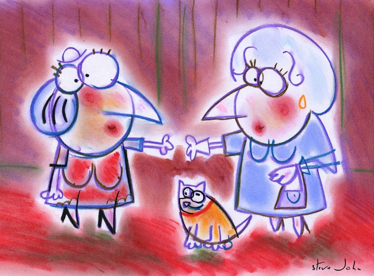 Picasso's Mum meets the Queen... - Image 0