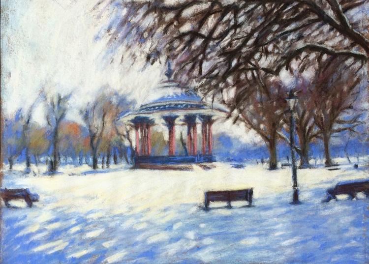 Clapham Common in winter - Image 0