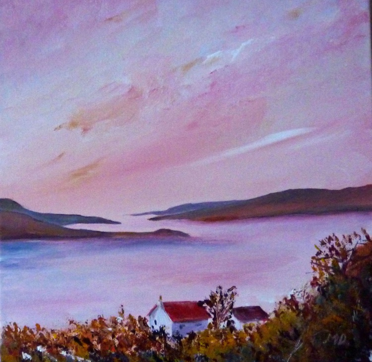 Looking to The West Kyles of Bute - Image 0