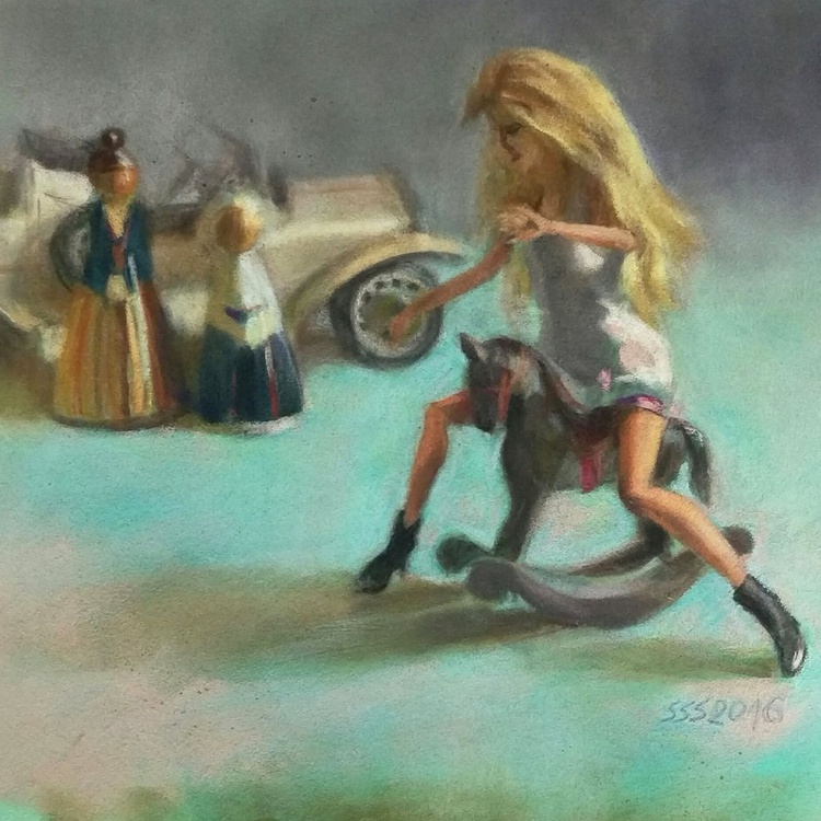 Women and horsepower - Image 0