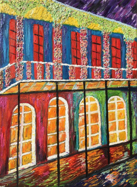 """""""NEW ORLEANS FRENCH QUARTERS"""" - Image 0"""