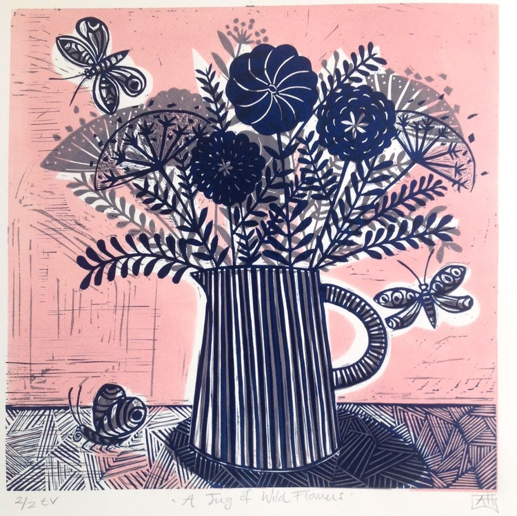 A Jug of Wild Flowers - Image 0