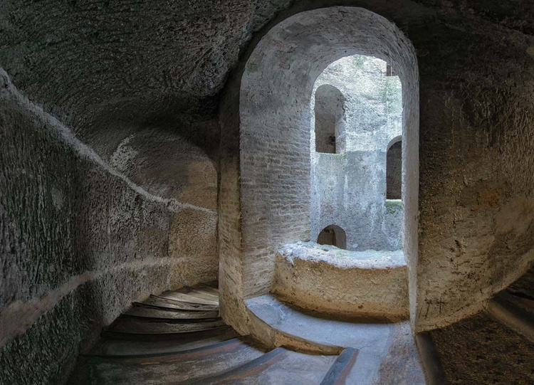 St. Patrick's Well Staircase and Window - Limited Edition Print - Image 0