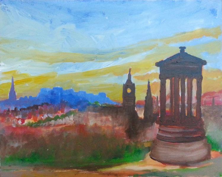 Edinburgh View from Calton Hill - Image 0